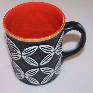Starbucks Black Tribal Hawaiian Coffee Mug 2008